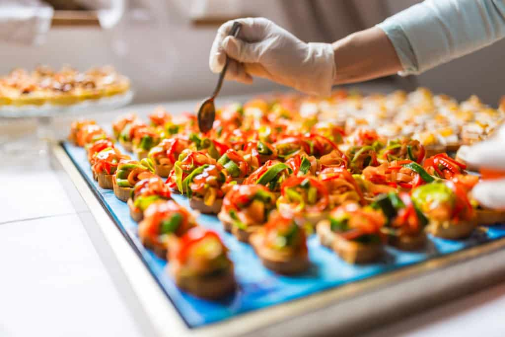 easy businesses to start part time catering
